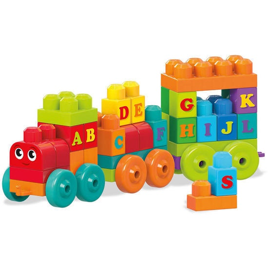 ABC LEARNING TRAIN 60 PCS