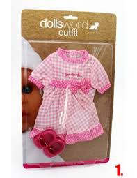 DOLL'S WORLD OUTFIT