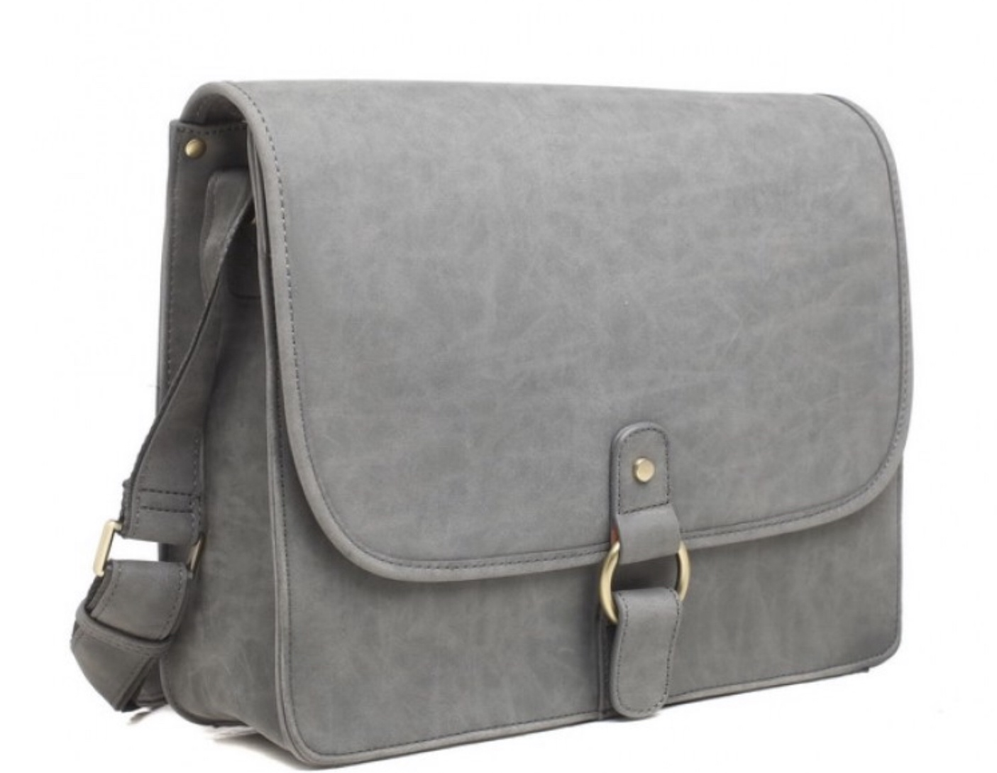 Noah Laptop Size Messenger Bag with Pull Out Pouch