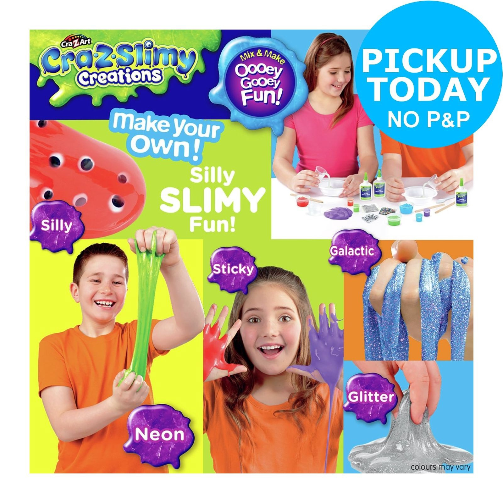 CRA-Z-SLIMY CREATIONS - SILLY SLIMY FUN!