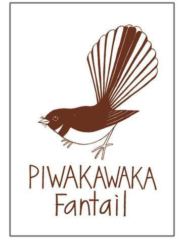 Tea towel Fantail