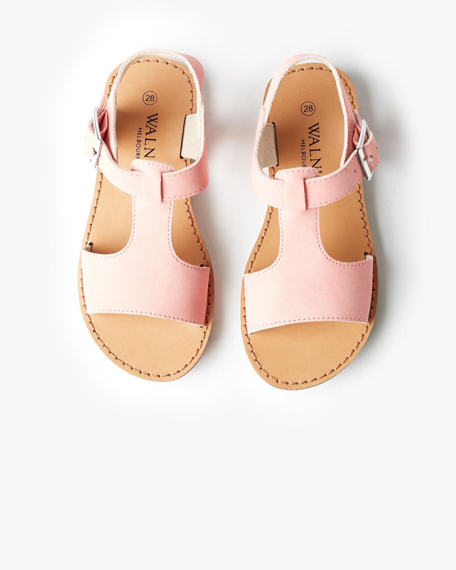 Walnut Racer Sandal Lolly Pink