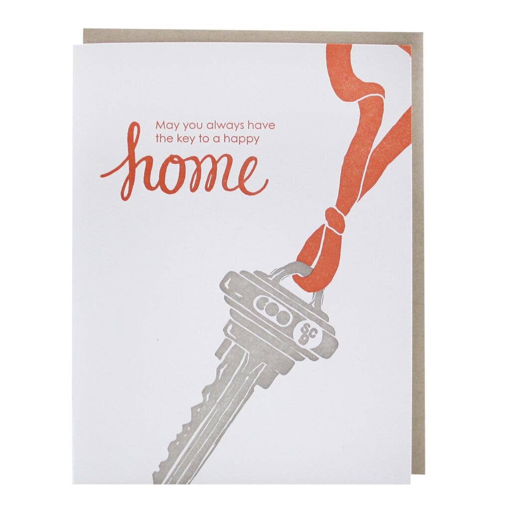 Key To New Home Card