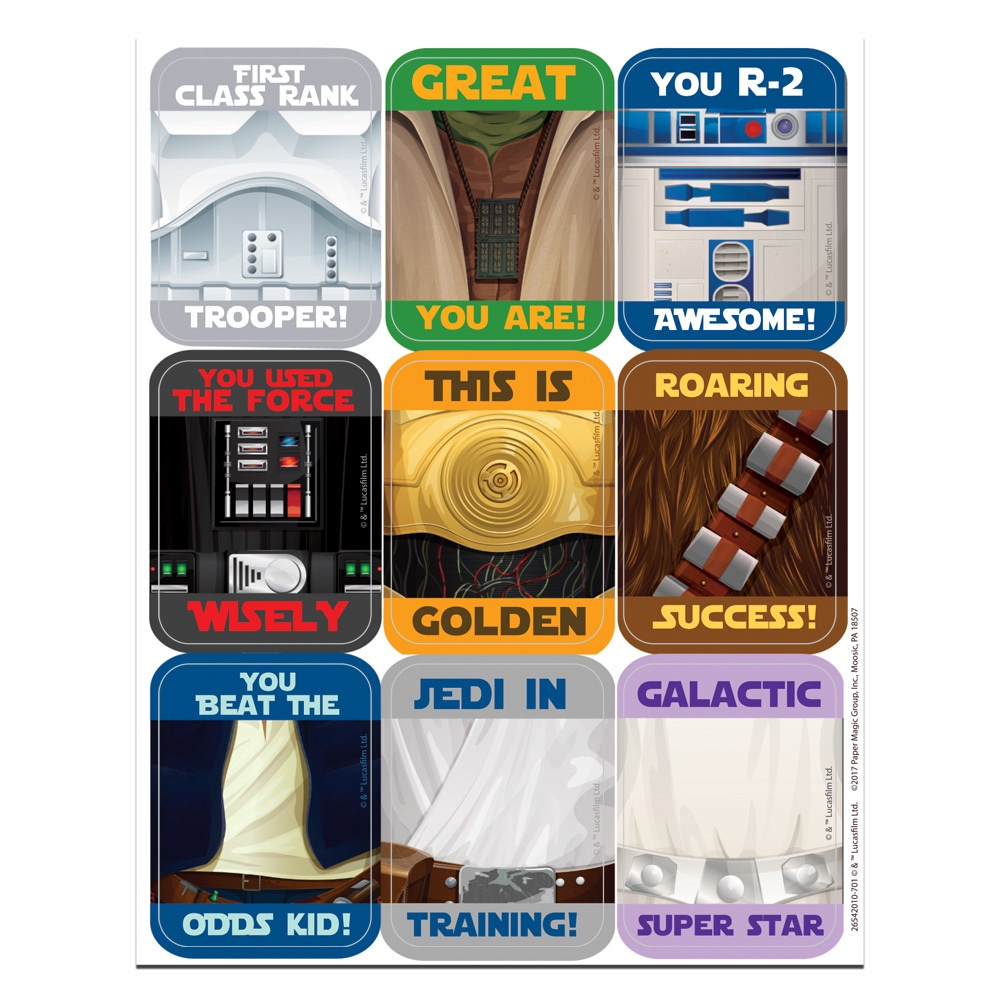 EU 654201 STAR WARS SUPER TROOPERS STICKERS