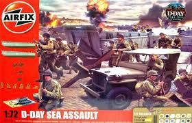 Airfix #A50156A 1/72 D-Day Sea Assault
