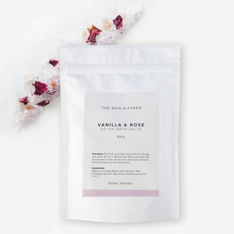 VANILLA ROSE DETOX BATH SALTS