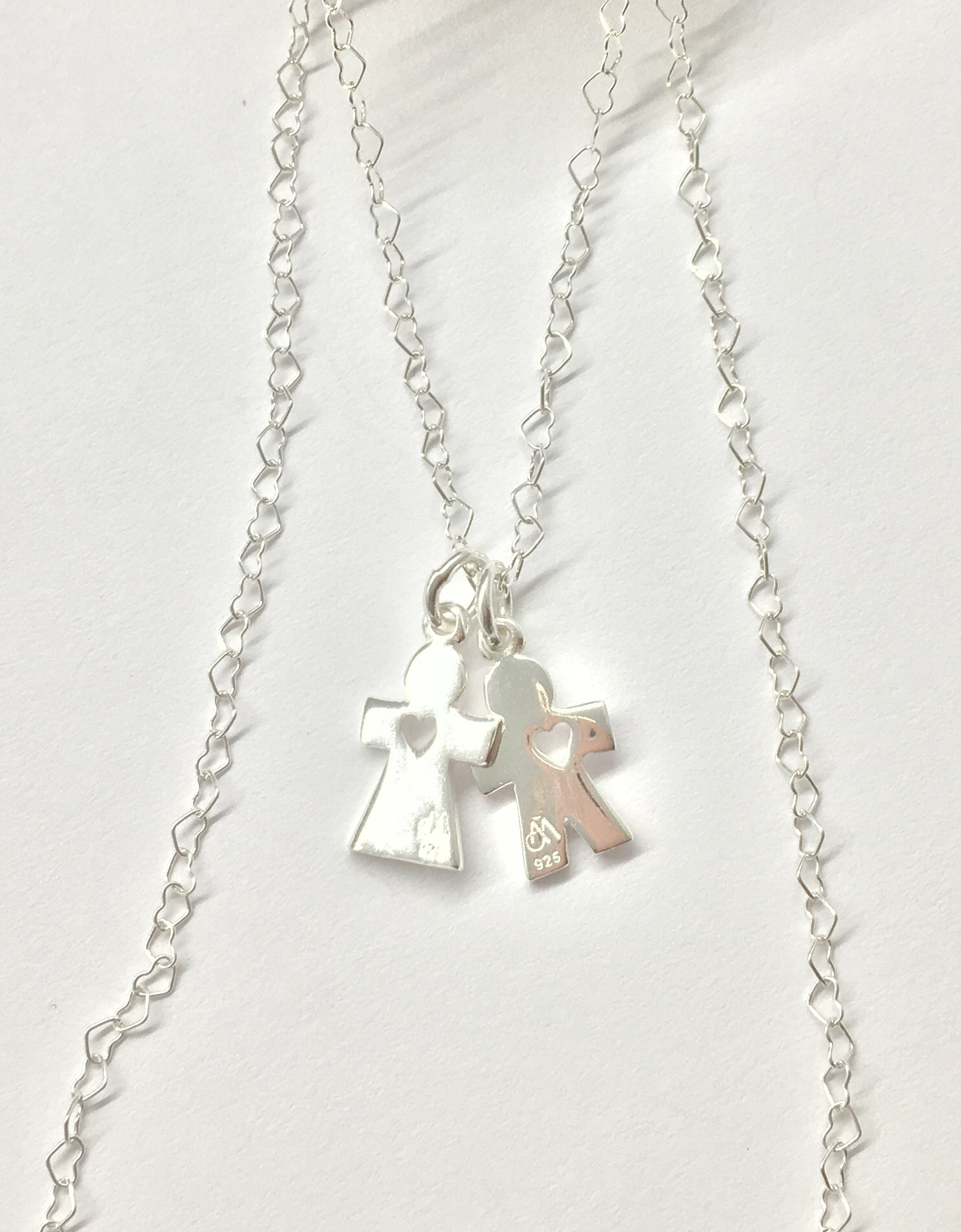 Annabella Moore - Male and Female charm necklace