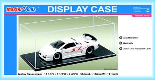 Master Tools #TR09815 1/18 Display Case (365 x 186 x 121 )