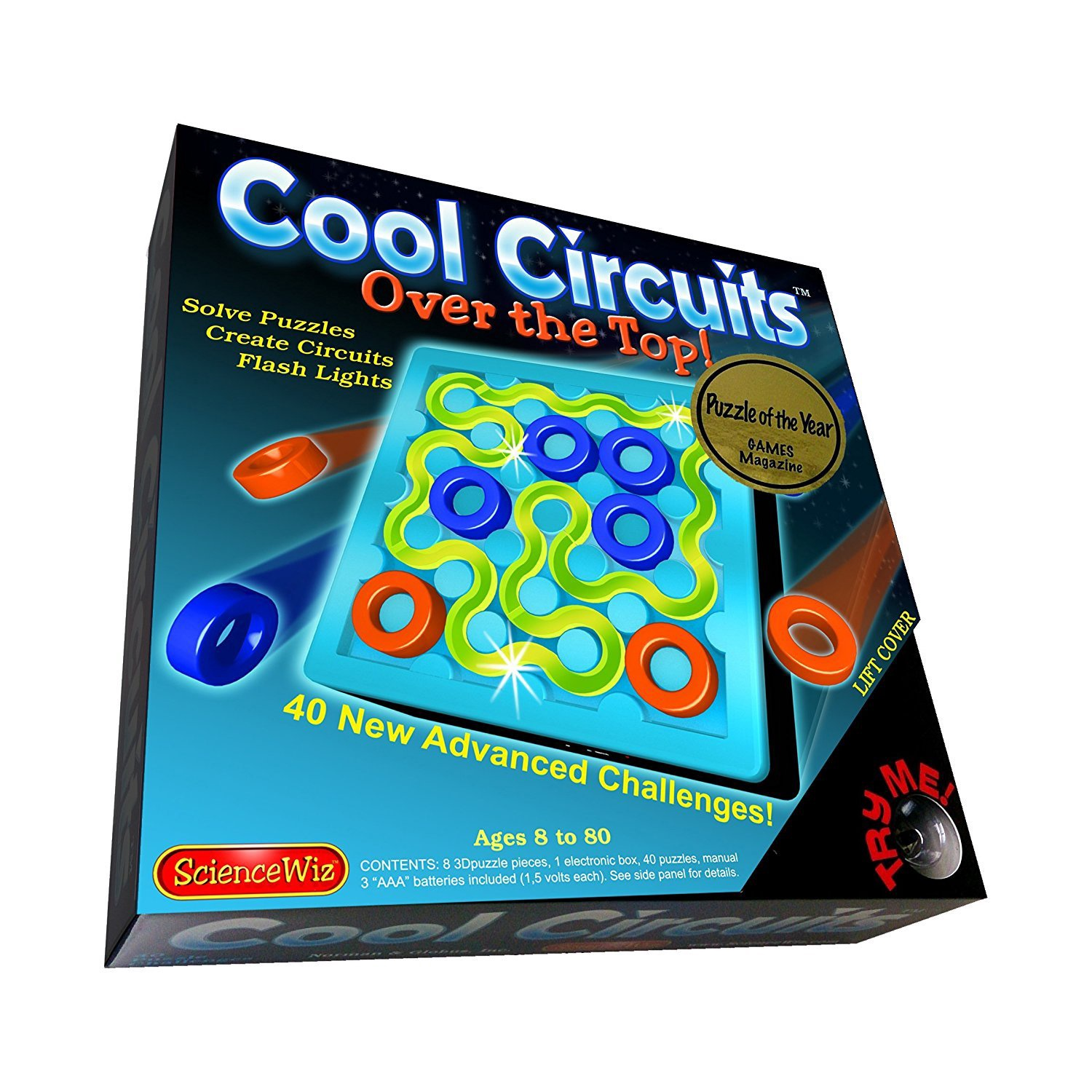 SCIENCE WIZ COOL CIRCUITS JUNIOR REV