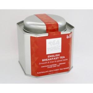 ENGLISH BREAKFAST TEA CADDY TIN