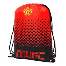 MANCHESTER UNITED FC FADE GYM BAG