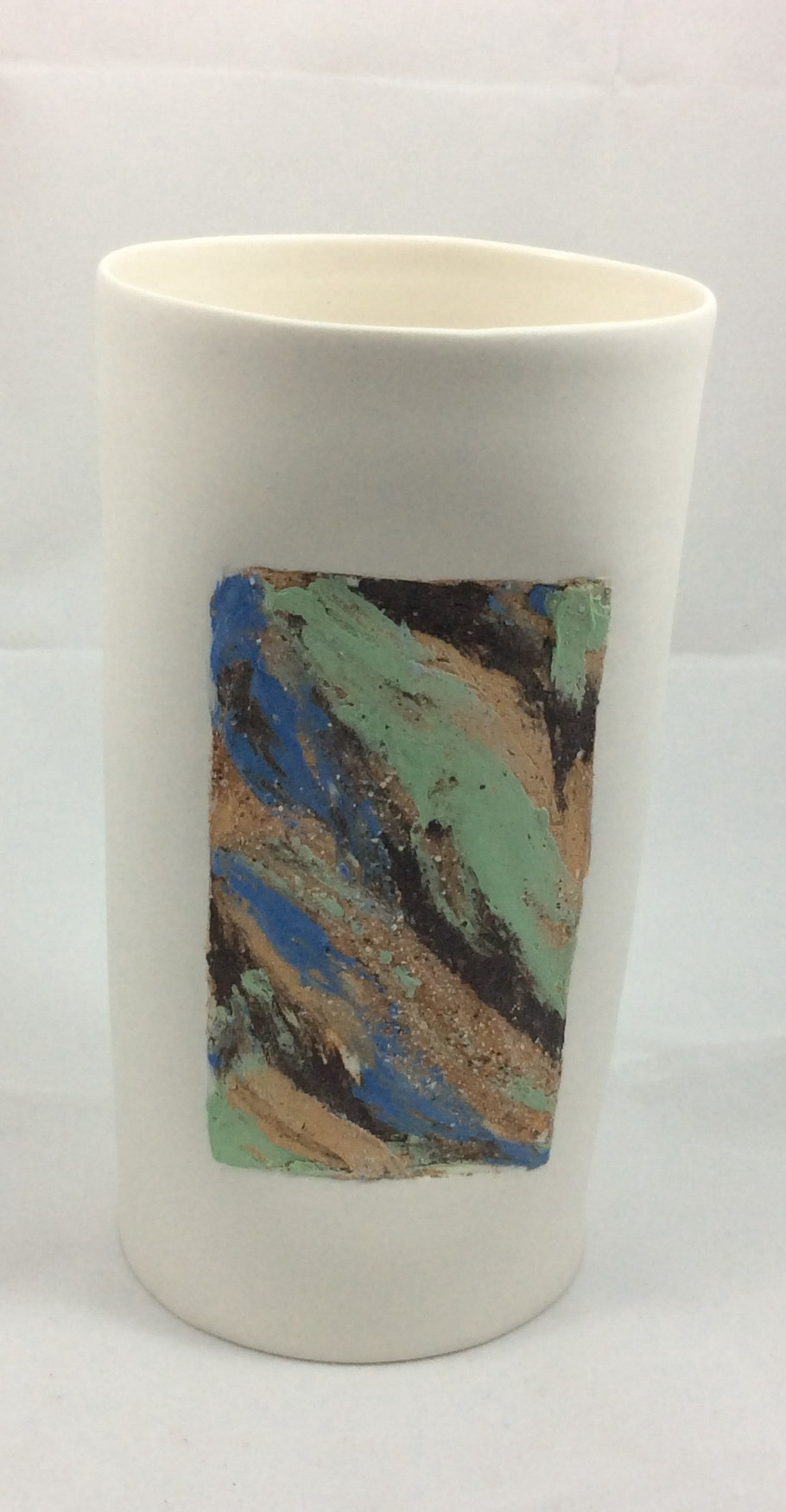 Cylinder Vase - Strata