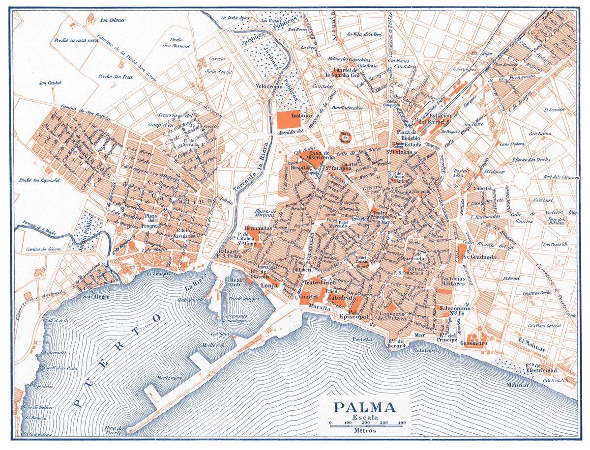 Palma Map | Print Only