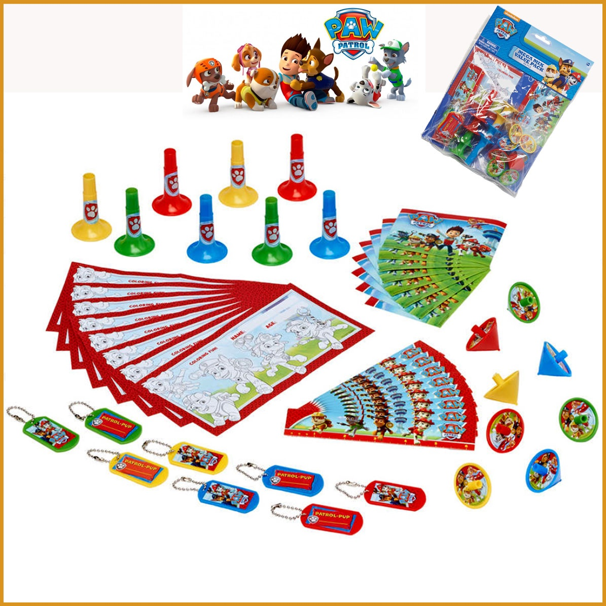 PAW PATROL MEGA MIX VALUE PACK 48 PCS