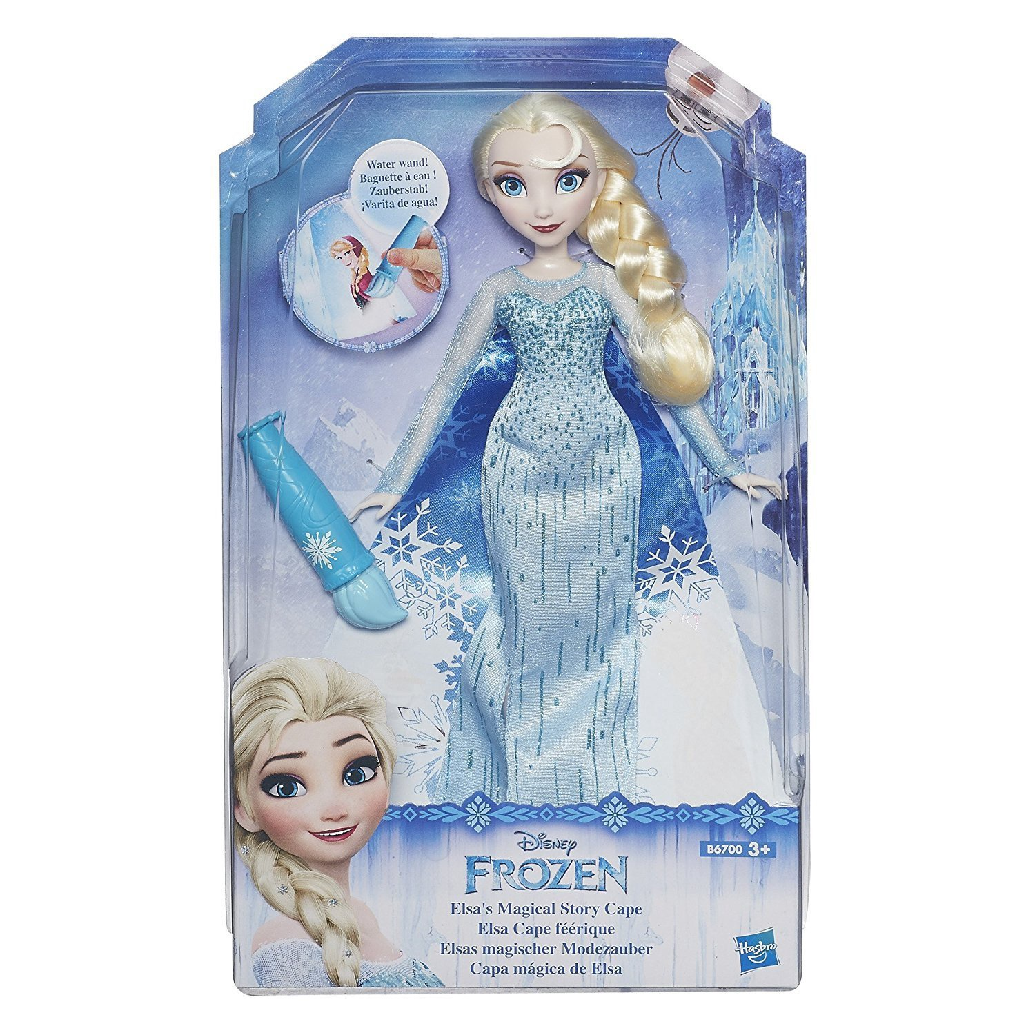 FROZEN ELSA MAGICAL STORY CAPE