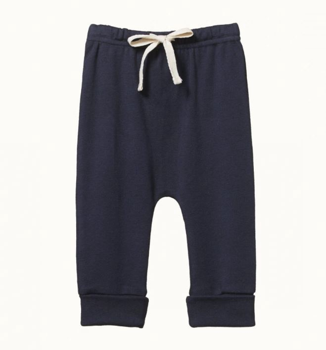 DRAWSTRING PANTS - NAVY