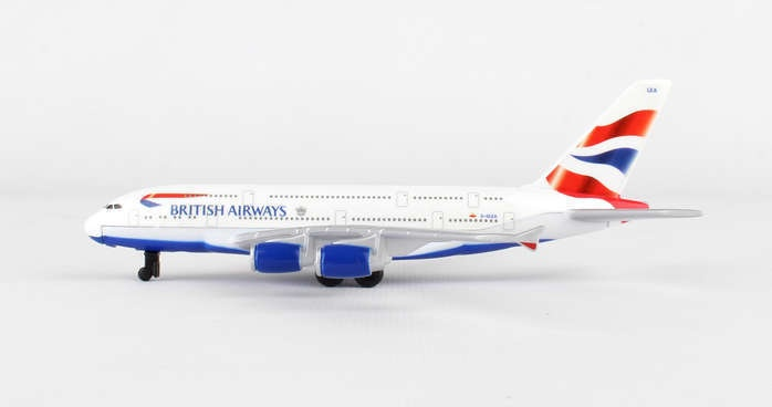 BRITISH AIRWAYS A380 SINGLE PLANE