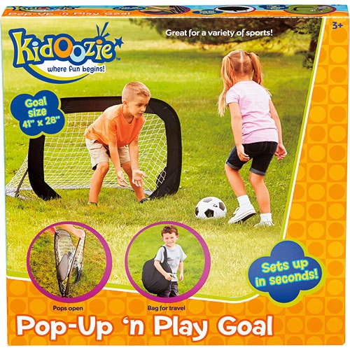 KIDOOZIE POP-UP PLAY GOAL