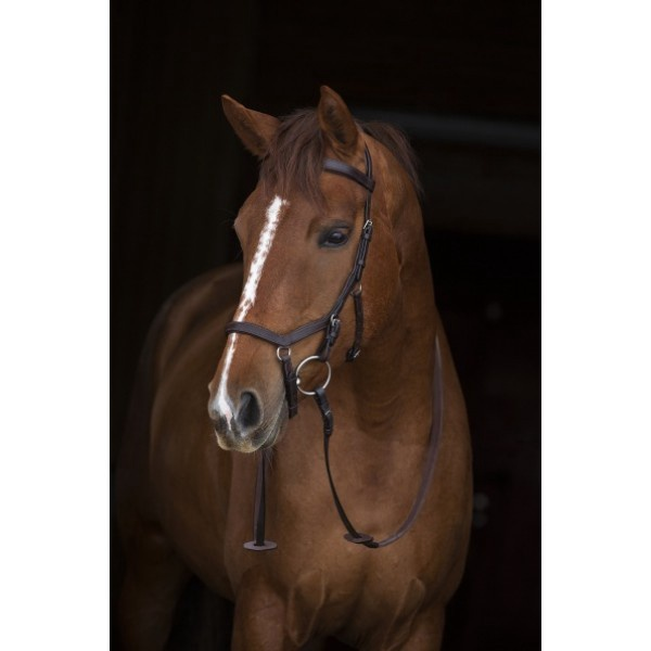 Horseware Rambo Micklem Competition Bridle With Reins   Brown