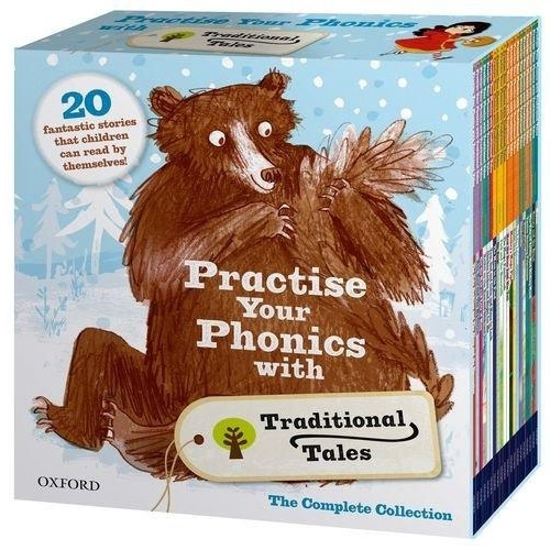 ORT PRACTISE YOUR PHONICS WITH TRADITIONAL TALES (21 BOOKS)