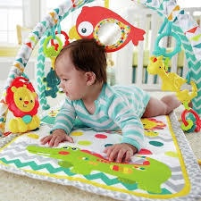 COLOURFUL 3 IN 1 MUSICAL ACTIVITY GYM