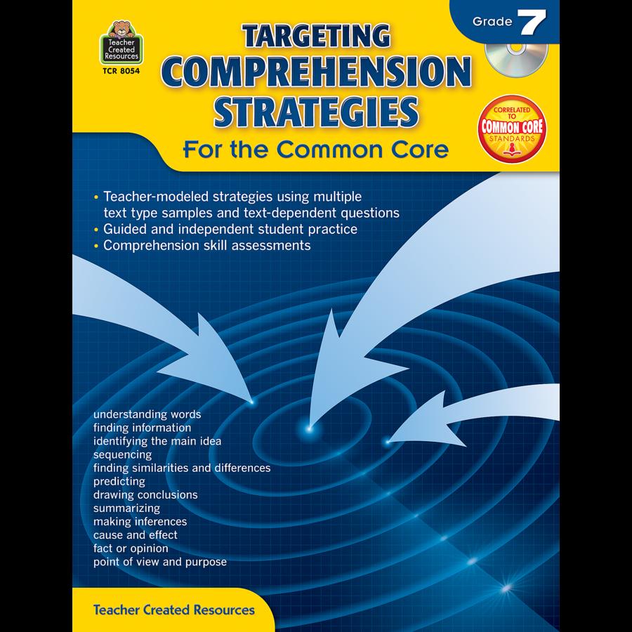 X TCR 8054 TARGETING COMPREHENSION STRATEGIES G7