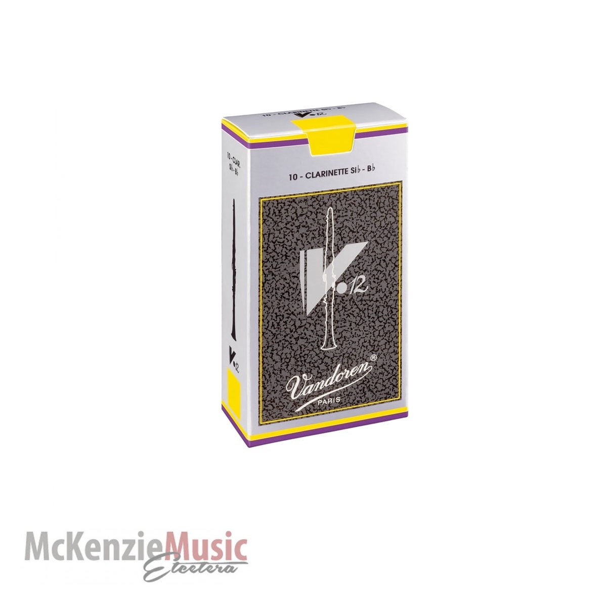 Vandoren V12 Clarinet Reed Box