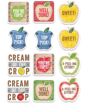 CTP 4730 UPCYCLE APPLE REWARD STICKERS