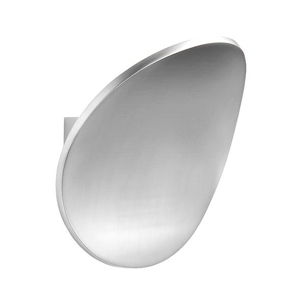 Cassa 1lt wall 5W warm white - polished aluminium