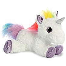 RAINBOW UNICORN 12 INCHES