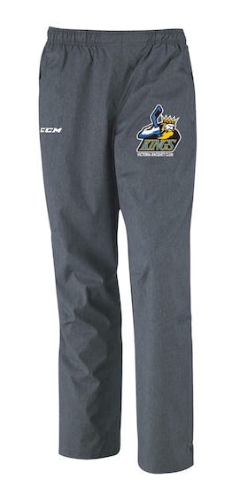 CCM Premium Skate Suit Pant-VRC Kings Grey-EMBROIDERED CREST