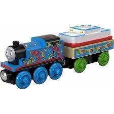 THOMAS WOODEN DELUXE BIRTHDAY THOMAS