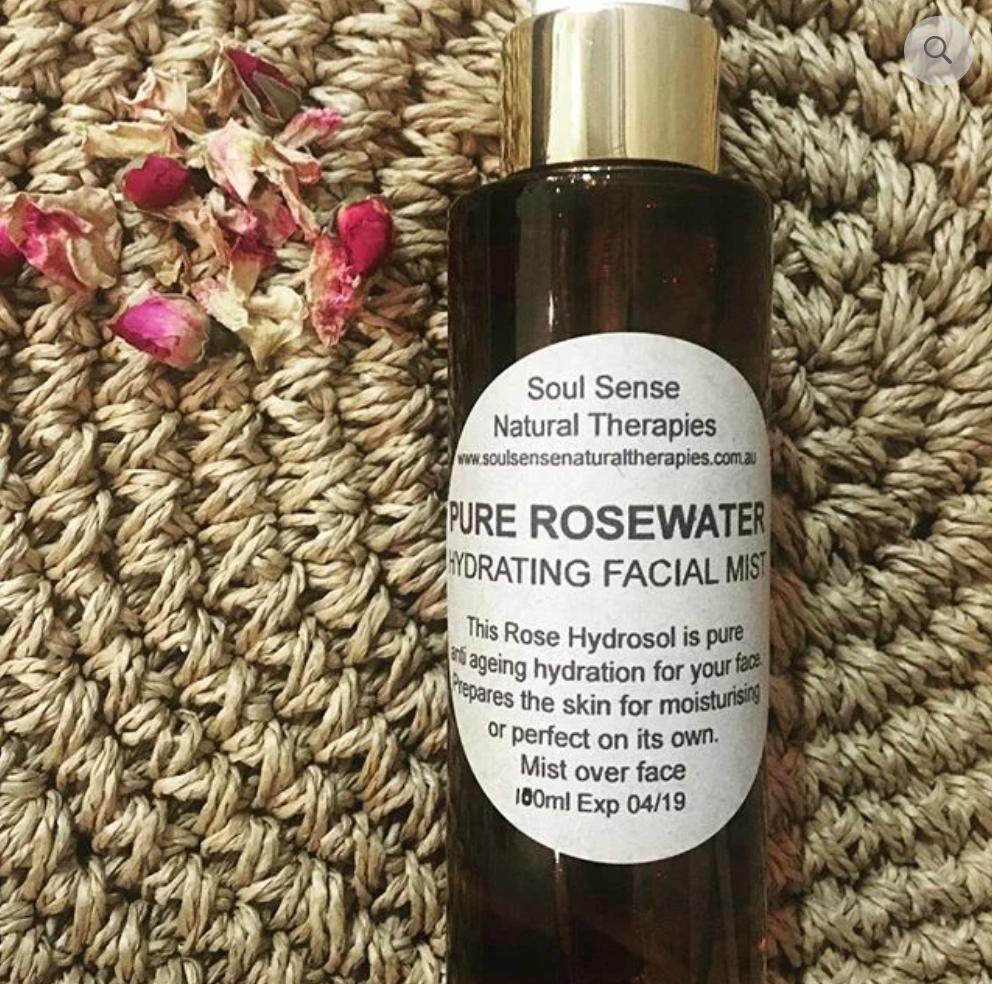 100% Pure Rose Face Mist