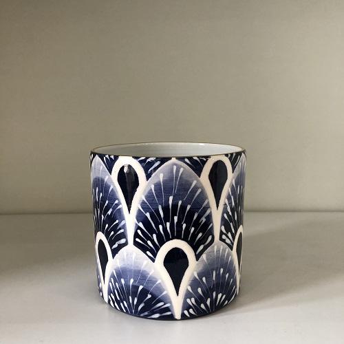 West Palm Peony Vase | Delft