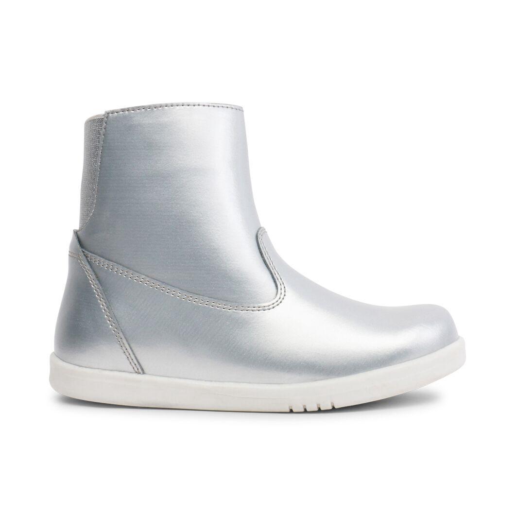 Bobux Kids Plus Paddington Waterproof Boot Silver