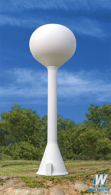 Walthers Cornerstone #933-3831 N Scale Built Up Modern Water Tower