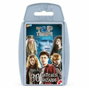 TOP TRUMPS HARRY POTTER WITCHES & WIZARDS