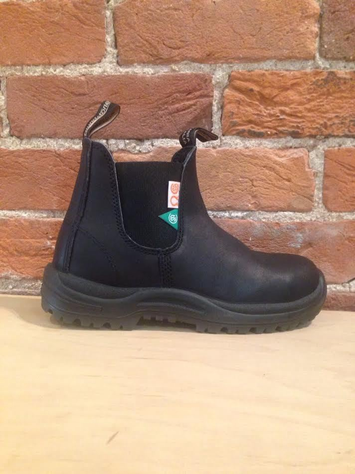 BLUNDSTONE - 163 CSA GREENPATCH IN BLACK