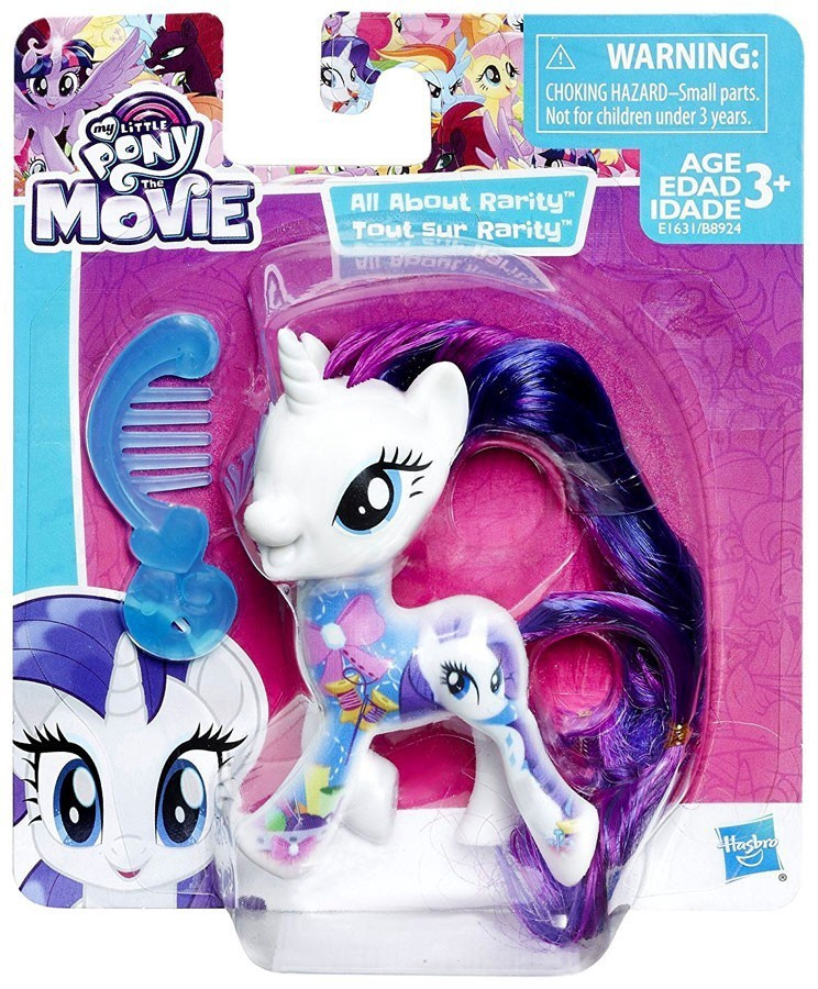 MY LITTLE PONY THE MOVIE ALL ABOUT RARITY