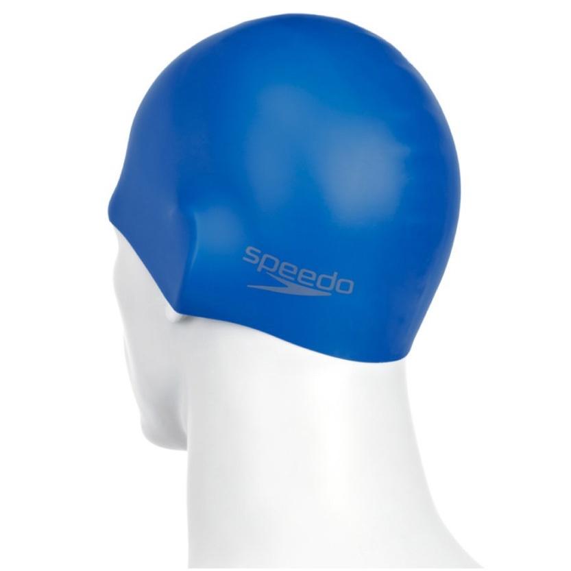 Plain Moulded Silicone Cap Neon Blue