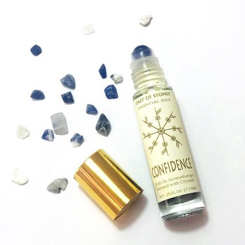 Confidence Essential Oil Blend With Sodalite