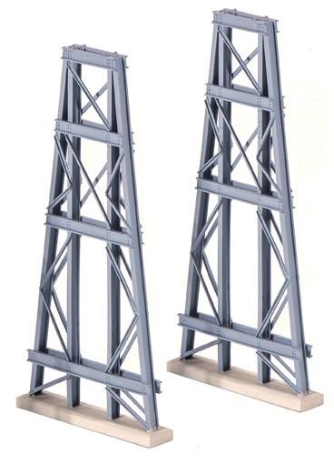 Ratio #242 N Scale Steel Trestles 2pce