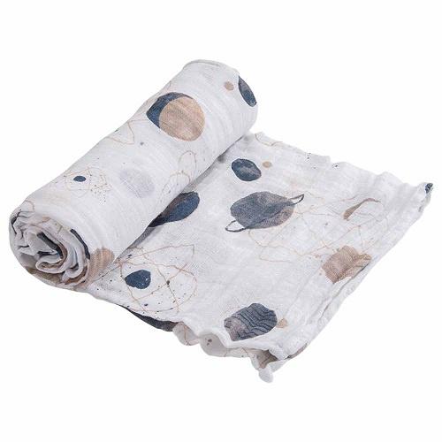 Cotton Muslin Swaddle | Planetary