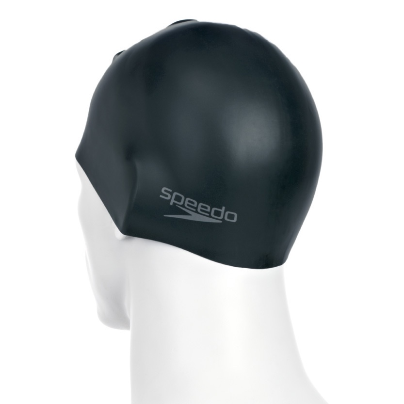 Plain Moulded Silicone Cap Black