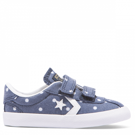 Converse Breakpoint Polka Dot 2V Toddler Low Top / Navy
