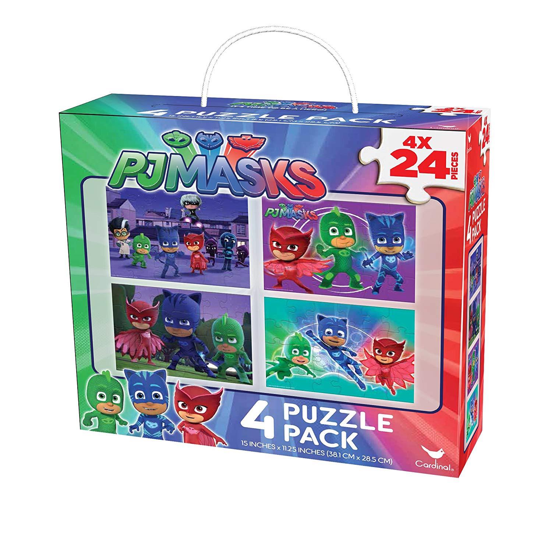 PJ MASKS 4 PUZZLE PACK