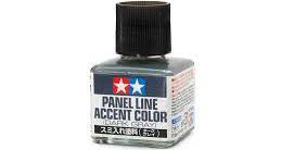 Tamiya #87199 Panel Line Accent Colour (Dark Grey)