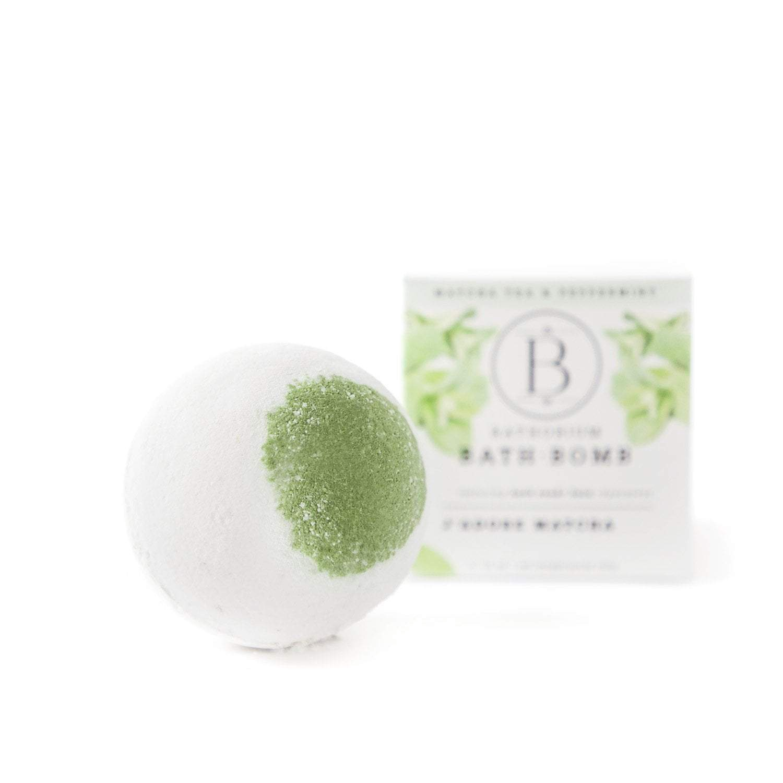 BATHORIUM - BATH BOMB J'ADORE MATCHA
