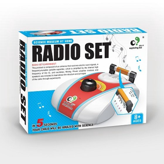 EXPLORING KID DIY RADIO SET