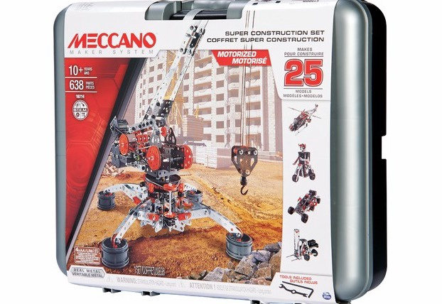 Meccano #6032896 25 Model Super Construction Set